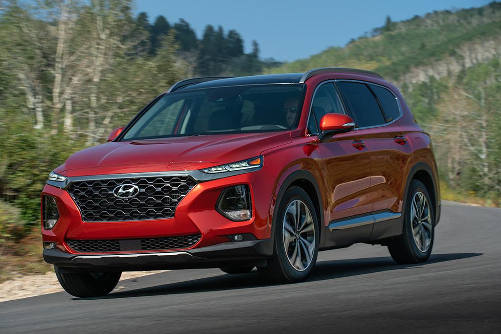 Hyundai SantaFe 2020 được nâng cấp, giá từ 626 triệu đồng