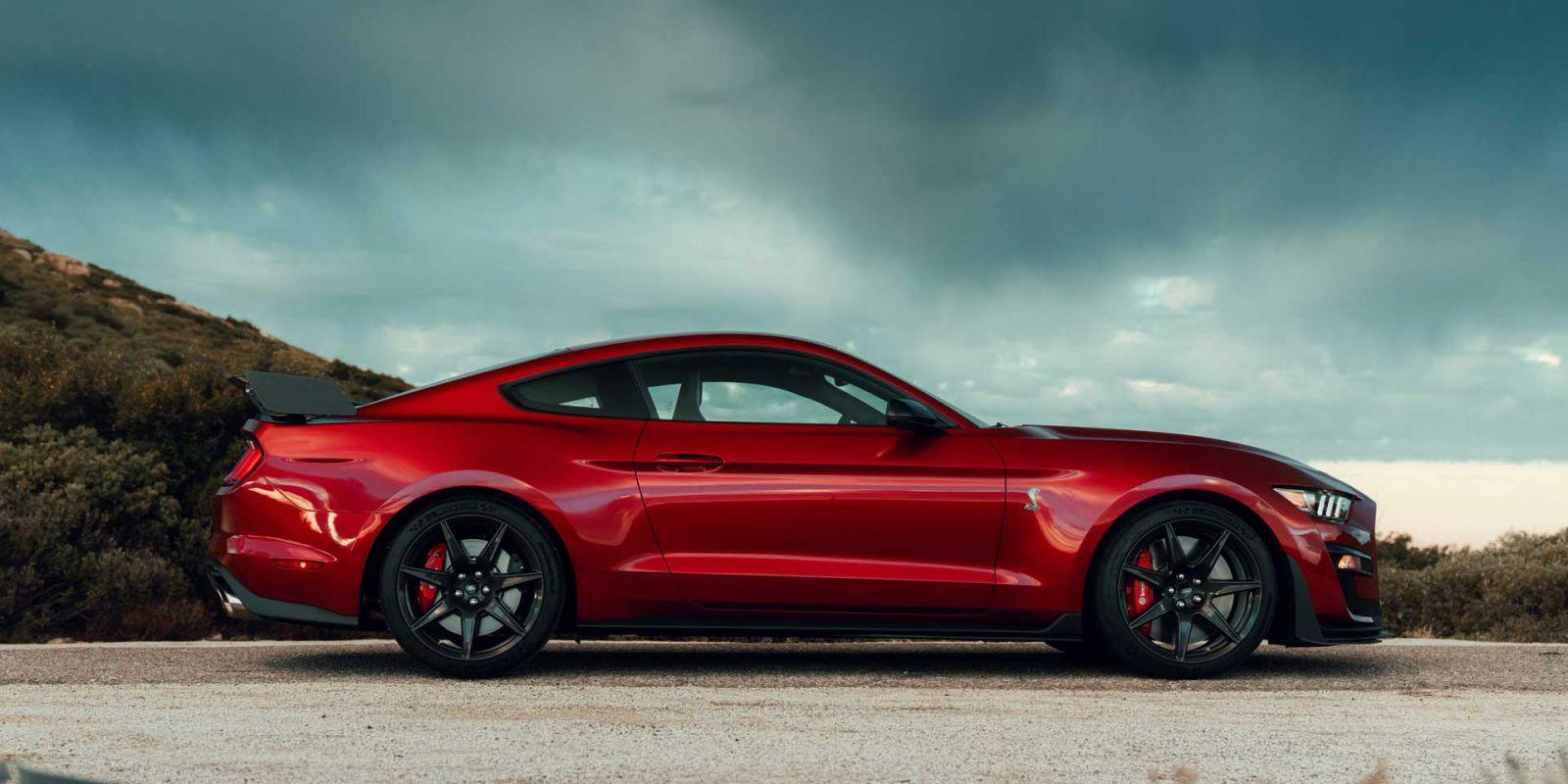Mustang Shelby GT500 2020 mẫu xe Ford mạnh nhất trong lịch sử